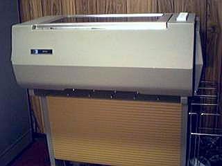 HP 2610A Line Printer
